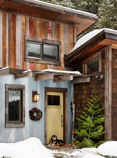 rustic-cabin-corrugated