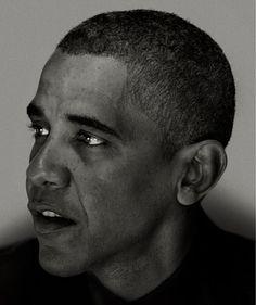 Obama - Nadav Kander
