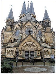 Protestant Church,Wiesbaden, Germany