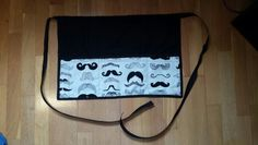Moustache apron Moustache, Apron, My Etsy Shop, How To Make, Bags, Shopping, Fashion, Pinafore Dress, Purses