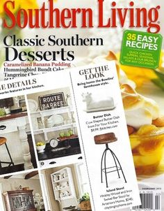 Hinkley Swivel Bar Stool in Southern Living - love this chair.