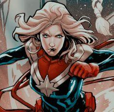Marvel Women, Marvel Girls, Marvel Dc, Comic Books Art, Comic Art, Marvel And Dc Characters, Fictional Characters, Captain Marvel Carol Danvers, Dc Icons