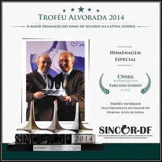 Troféu Alvorada 2014 - Homenagem Especial - CNseg