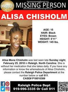 Find Missing Alisa Mone Chisholm! Missing Child, Missing Persons, Amber Alert, Prayer Board, Looking For Someone, Helping Hands, Praise God, Olympic Games, We The People