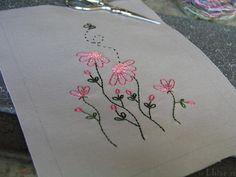 Embroidery | J'ai terminé la broderie vendredi. Je dois main… | Flickr