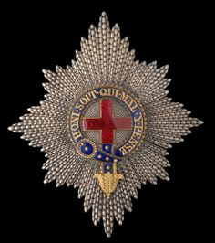 Order of the Garter, Regency-Period Star by Rundell Bridge and Rundell, London, 121mm x 105mm.