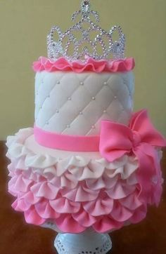 Cute Baby Shower Or Birthday Cake Idea Yummy Cakes 1st