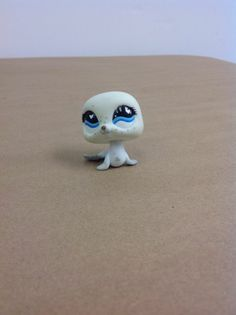 Littlest Pet Shop, LPS, #555 Seal With Blue Eyes