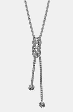 John Hardy 'Classic Chain' Long Lariat Necklace | Nordstrom