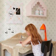 Behang Flo Mint? De leukste Behang voor de kinderkamer bij Saartje Prum.