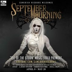 September Mourning shows that 2016 will be a very eventful year for the band and all their fans.