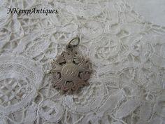 Antique fob /pendant 1884 by Nkempantiques on Etsy