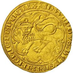 ➽ Ask us to find it for you : Coin France Aquitaine Edward III Léopard d'or 1357 Bordeaux Aquitaine, Bordeaux, English Monarchs, Circle Game, Royal King, Plantagenet, Pirate Treasure, Coin Collecting, Gold Coins
