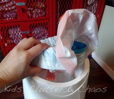 DIY Diaper Genie Refills - save money!