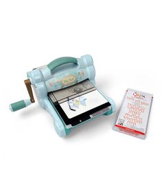 Take a look at this Big Shot Machine & Dazzle Alphabet Die Set by Sizzix on #zulily today!