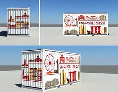 Singapore Takeout: pop-up kitchen in a shipping container » Lost At E Minor: For creative people