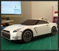 Nissan GT-R Egoist Paper Car Free Vehicle Paper Model Download - http://www.papercraftsquare.com/nissan-gt-r-egoist-paper-car-free-vehicle-paper-model-download.html