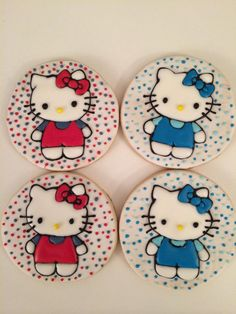 Hello Kitty cookies 2015 | Cookie Connection