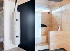 Stylish Finnish Sauna - via Coco Lapine