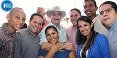 Miles de jovenes del PRD y la sociedad civil dan respaldo a Hipolito Mejia