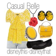 Casual Belle (Princess Belle inspired fashion)