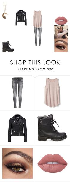 """""""Untitled #394"""" by aurora-mcmenamin ❤ liked on Polyvore featuring Gap, Steve Madden, Lime Crime and Roberto Cavalli"""