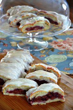 Gluten Free Dairy Free Cherry Braid- Yumminess in the extreme! www.synergyspokane.com