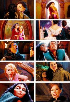 A different OUAT/Tangled parallel than the usual one comparing Rapunzel/Eugene and Captain Swan.