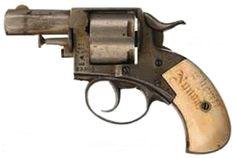 Sheriff Matthew Nunan's Webley No. 2 British Bulldog Revolver