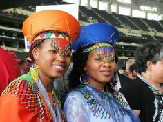 International convention 2014- . Sisters in beautiful attire.