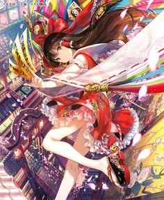 Fuzichoco Art Draw shared by on We Heart It Anime Kimono, Manga Anime, Anime Chibi, Manga Art, Anime Girl Cute, Beautiful Anime Girl, Kawaii Anime Girl, Anime Art Girl, Anime Girls