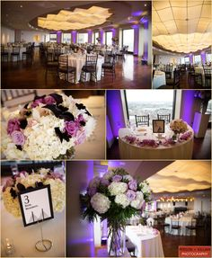 Modern City Wedding at the State Room in Boston. #WinstonFlowers  For a Winston wedding: http://www.winstonflowers.com/Events/Weddings  Photography by: @Person + Killian Photography