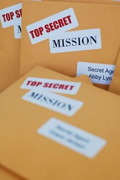 all things simple: activity days: secret service mission
