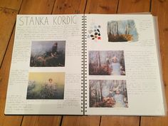 Artist research into Stanka Kordic and how she represents our relationship with nature A Level Sketchbook, Relationships, Polaroid Film, Nature, Artist's Book, Artists, Naturaleza, Dating, Nature Illustration