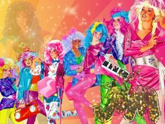 cartoons costumes Jem and the Holograms - Jem Et Les Hologrammes, 80s Characters, Jem Doll, Lady Lovely Locks, Cartoon Costumes, Morning Cartoon, Jem And The Holograms, All I Ever Wanted, Marvel Entertainment