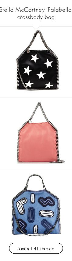 """Stella McCartney 'Falabella' crossbody bag"" by euphemiasun97 ❤ liked on Polyvore featuring StreetStyle, Spring, StellaMcCartney, bag, trend, bags, handbags, shoulder bags, bolsas and purses"