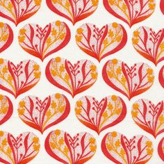 Hearts in Pink from Alegria by Geninne for Cloud9 Fabrics