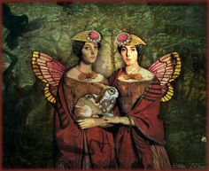 "Digital Art by *Silkku* ""Holder sisters"" silkkus.blogspot.fi"
