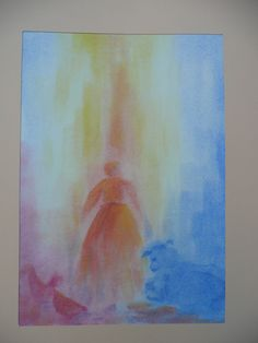 het boshuis Wet On Wet Painting, Fourth Grade, Art School, Watercolor Paintings, Gallery, Drawings, Illustration, Pictures, Waldorf Education
