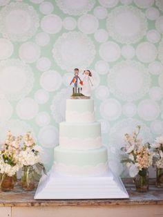 Mint, Peach & Orange Rustic Ranch Wedding Christa Elyce