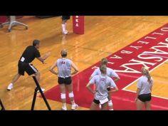 Watch Nebraska's John Cook Teach Back Setting! Volleyball Locker, Volleyball Gifs, Volleyball Motivation, Volleyball Practice, Volleyball Setter, Volleyball Training, Baseball Training, Coaching Volleyball, Basketball Drills