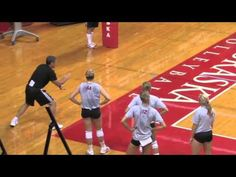 Watch Nebraska's John Cook Teach Back Setting! - Volleyball 2016 #4 - YouTube