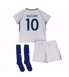 Chelsea Eden Hazard 10 Bortaställ Barn 17-18 Kortärmad Chelsea, Eden Hazard, Trunks, Sweatpants, Swimwear, Tops, Costa, Fashion, Drift Wood