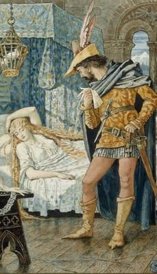 Walter Crane - Sleeping Beauty