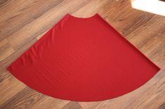 Little Red Infinity Dress Tutorial - Sew Like My Mom | Sew Like My Mom