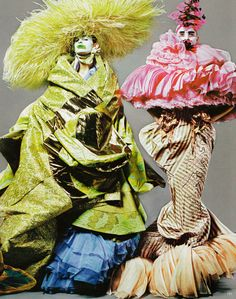 Christian Dior by John Galliano couture S/S 2003. Asia Major Collection