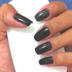 Black n Grey #nail #nailpolish #beauty #yingnailart