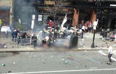 boston marathon bombing   Boston bomb