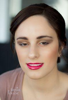 Golden Eyes & Bold Red Lips  Makeup Artist & Photographer: Tania Louise www.tanialouise.com.au