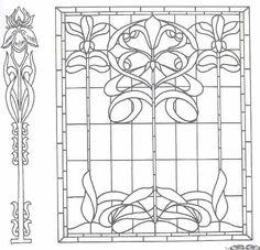 Free Printable Art Deco and Art Nouveau Patterns Collection